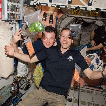 Mad til astronauter