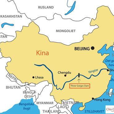 Dæmningen på Yangtze Kiang